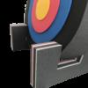 Zielscheibe Circle mit Ständer 2